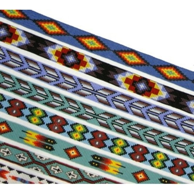 "Assorted 1"" Stretch Bead Hatband"