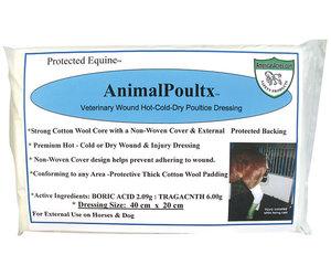 AnimalPoultx Antiseptic Poultice Dressing - 40cm x 20cm Wrap - Frontier  Western Shop