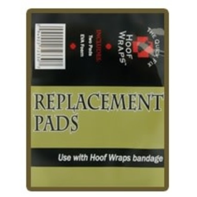 Hoof Wraps Replacement Bandage Pads