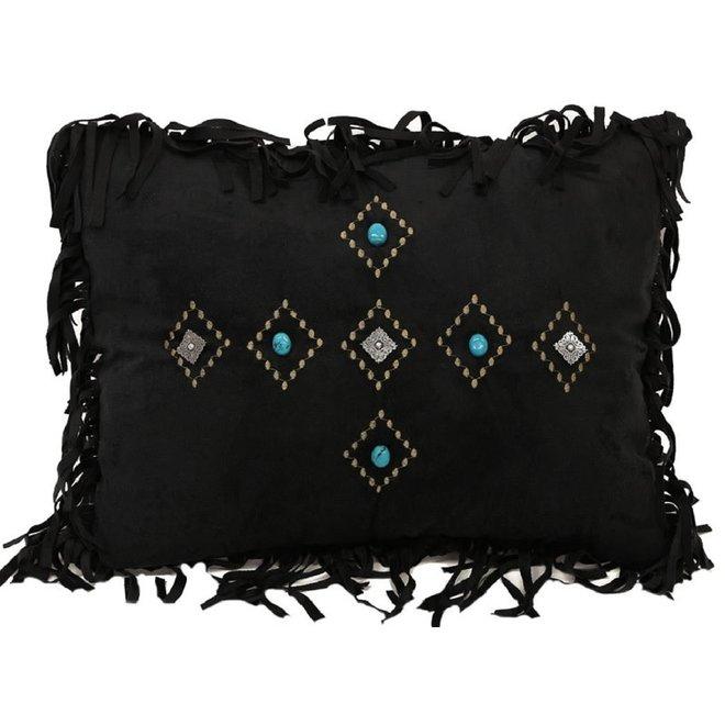 Black Diamond Pillow