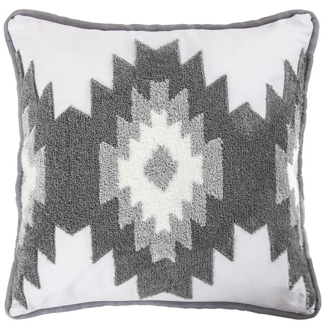 Crewel Embroidery Free Spirit Pillow