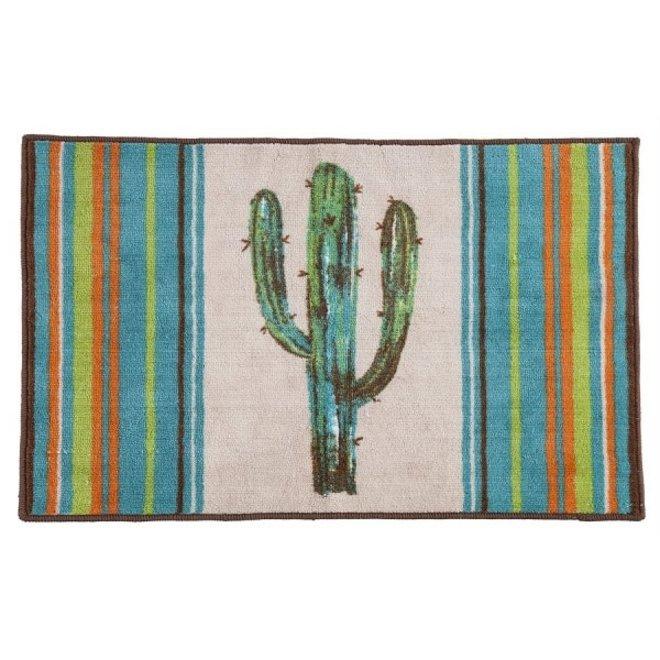 """Cactus Design Bath Mat 24"""" x 36"""