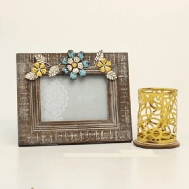 Photo Frame & Candle Holder Gift Set