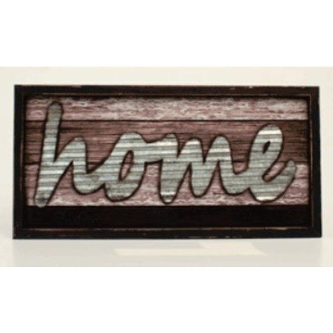 Distress HOME Sign