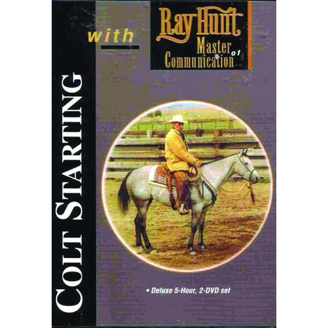 Colt Starting with Ray Hunt DVD