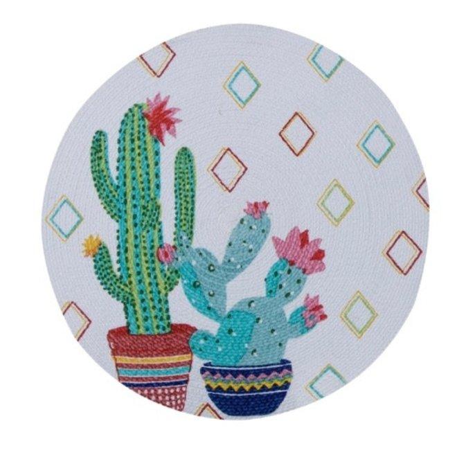Cactus Garden Braided Placemat
