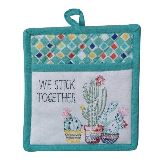 Cactus Garden Pocket Mitt
