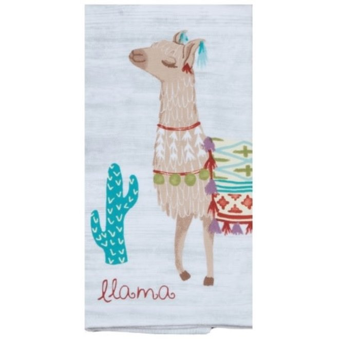 Lovely Llama Terry Towel