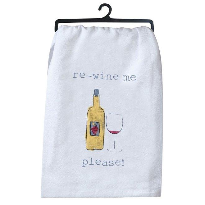 Re-Wine Me Flour Sack Towel