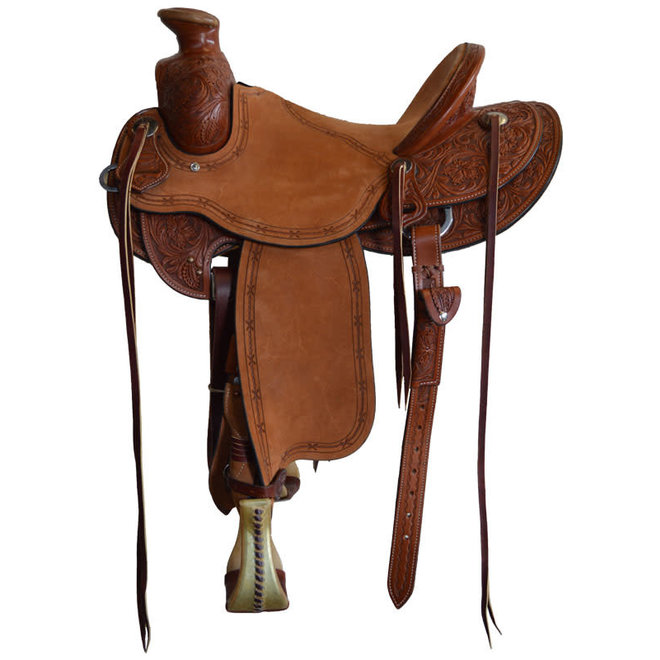 """Frontier 20X Modified Association Saddle 15"""" Seat"""