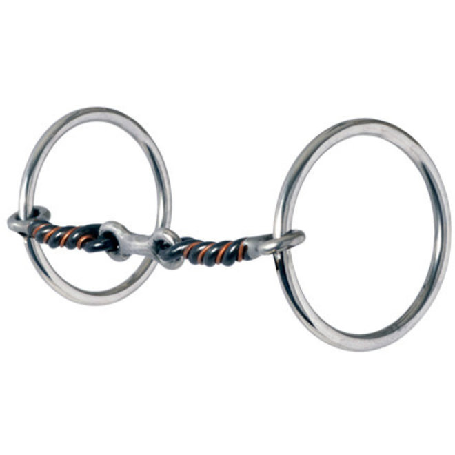 Medium Loose Ring Dogbone Snaffle