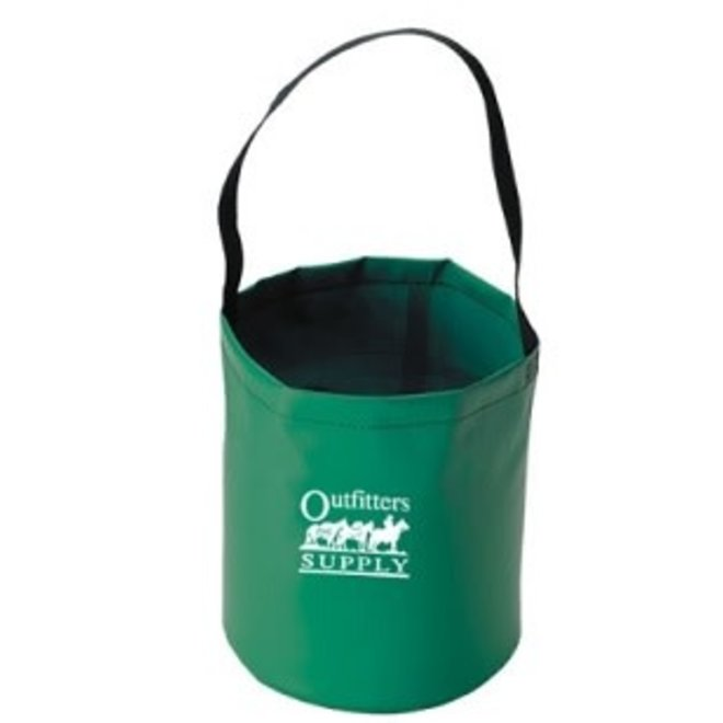Collapsible Water Bucket | Green