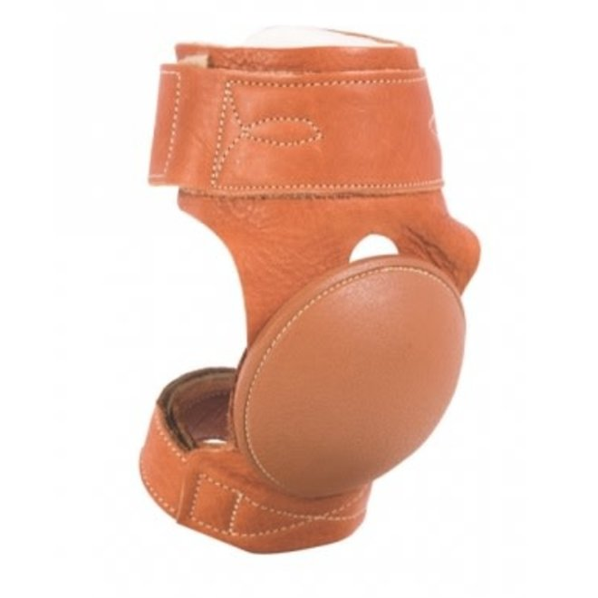 Leather Skid Boot w/Velcro