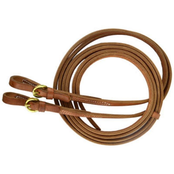 "5/8"" x 7' Buckle End Split Reins"