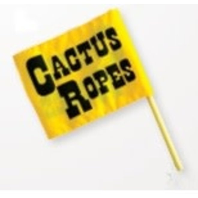 Cactus Ropes Flagger's Flag