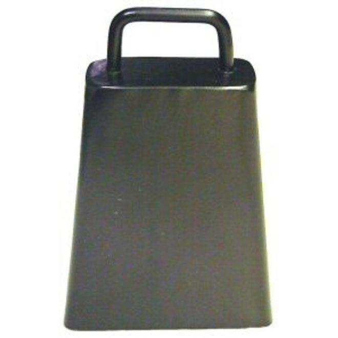 Black Steel Bull Bell 6 1/4