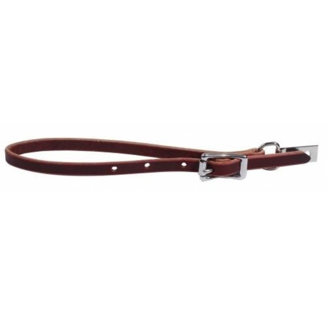 Latigo Leather Rear Rope Holder