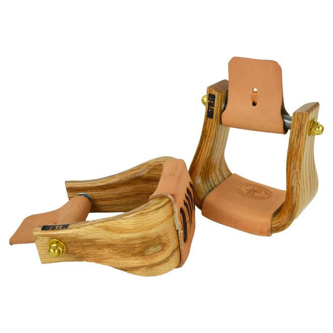 """3"""" Wood Stirrup for Children"""