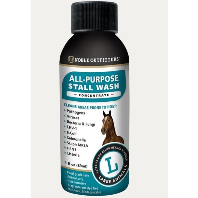 Noble Outfitters Large Animal Stall Wash Concentrate - 3oz