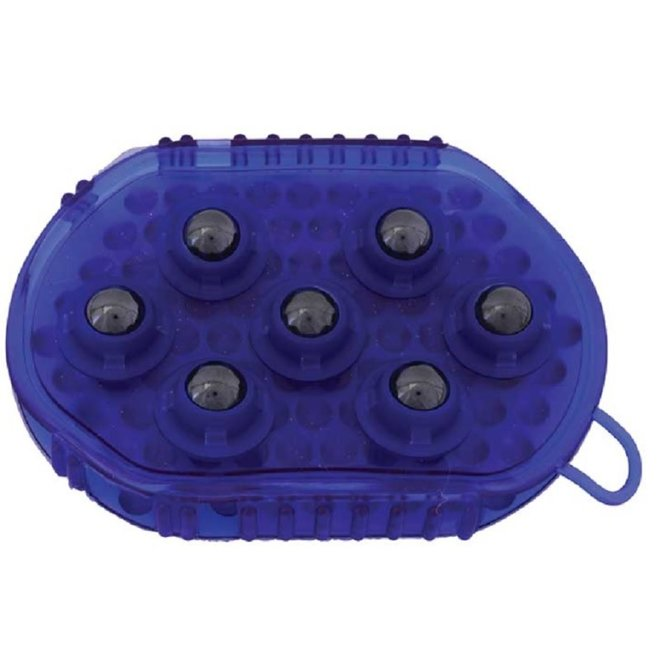 Gel Massage Mitt with Magnetic Rollers