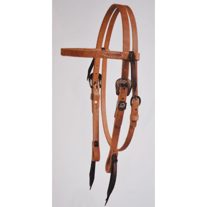 Cowboy Cluture Browband Headstall