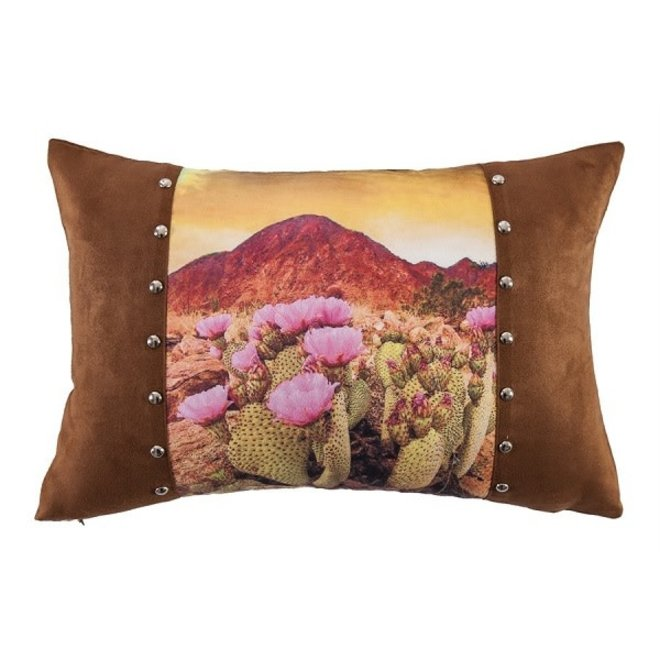Desert Scene Pillow