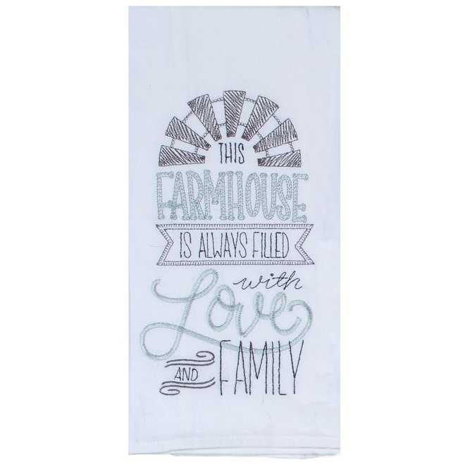 Farmhouse Flour Sack Towel