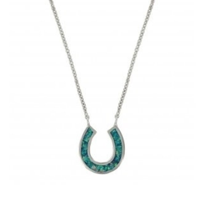 Lucky Water Horseshoe Necklace