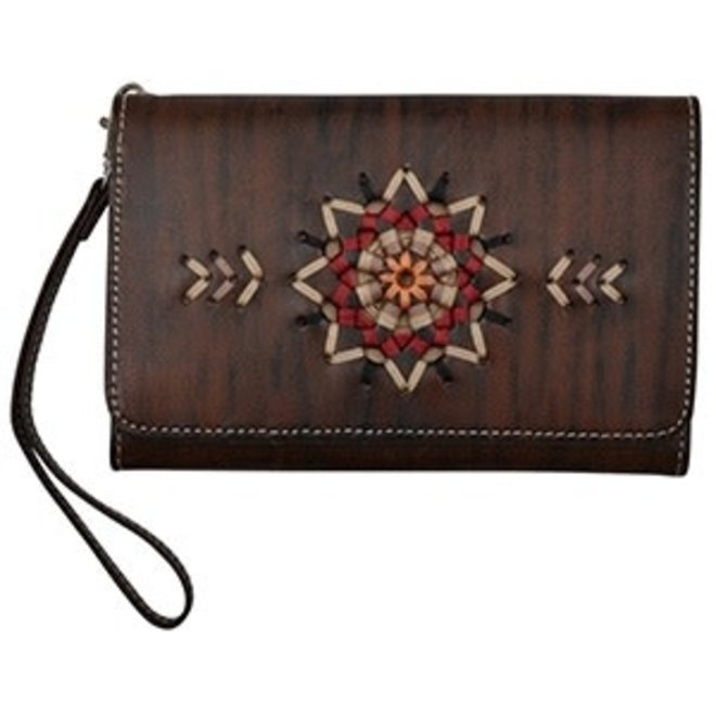 Angel Ranch Smartphone Holder Wristlet