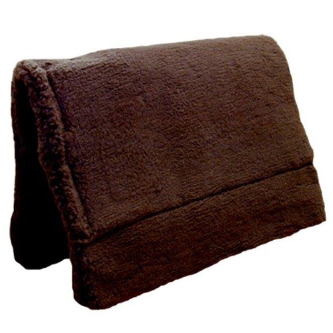 Brown Fleece Pack Pad