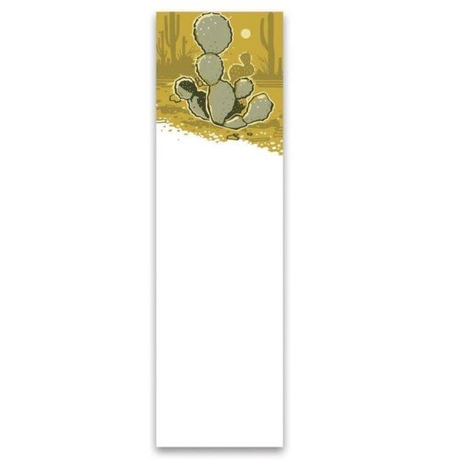 List Notepad - Cactus
