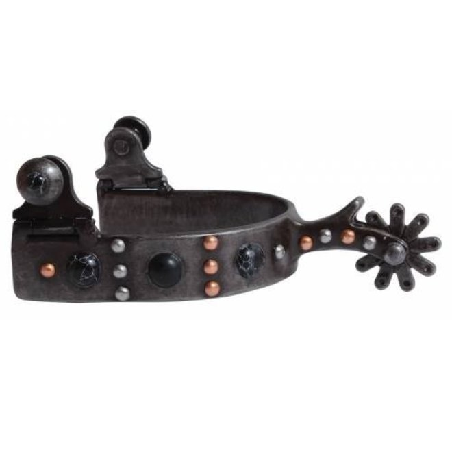 Ladies Black Dot Spur