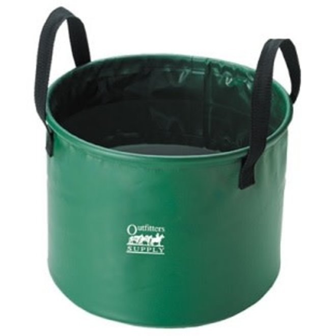 6.5 Gallon Collapsible Green Water Trough
