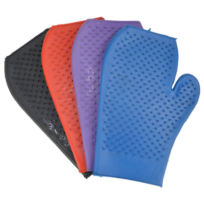 Kids Rubber Grooming Gloves