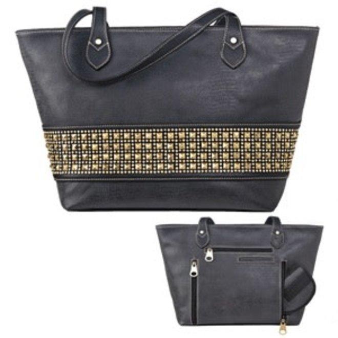 Black Avril Tote Bag
