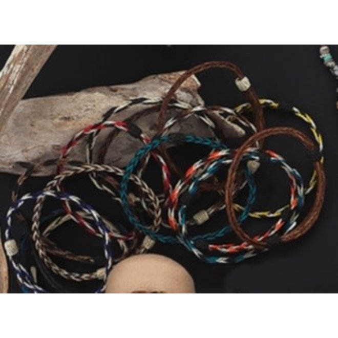 Assorted Natural Horsehair Bracelets