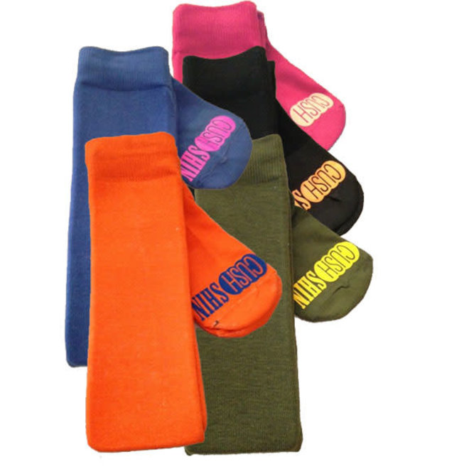 Over The Knee CushShin Socks in Assorted Solid Colors