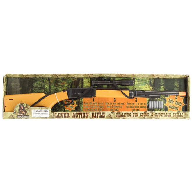 Bigtime Hunter Pump Action Rifle