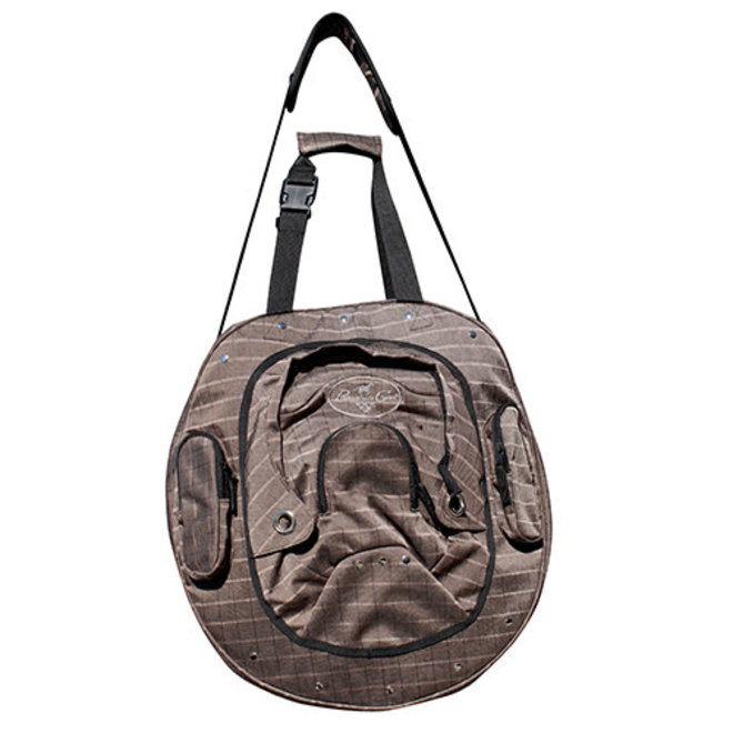 Deluxe Rope Bag - Chocolate Plaid
