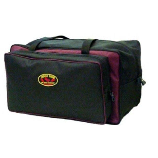 Super Pro Gear Bag - Black & Red