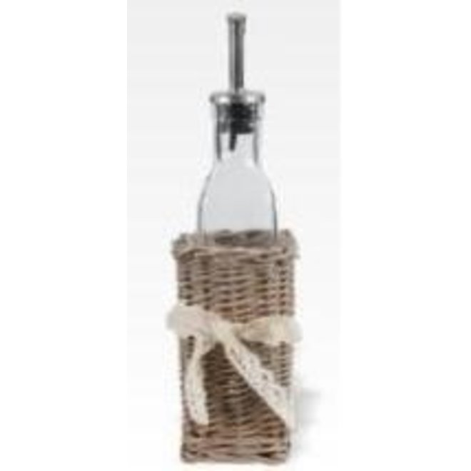 Oil Dispenser in Basket