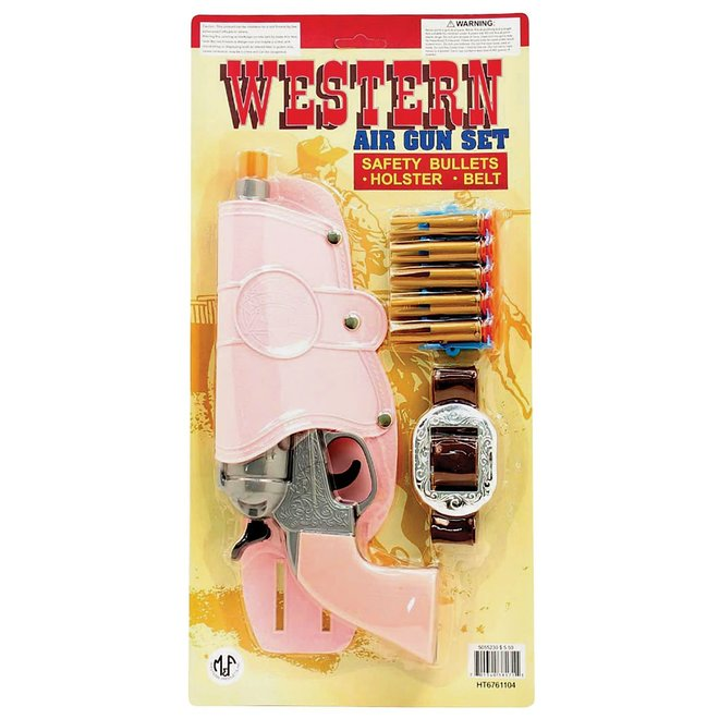 Western Air Gun Set-Pink