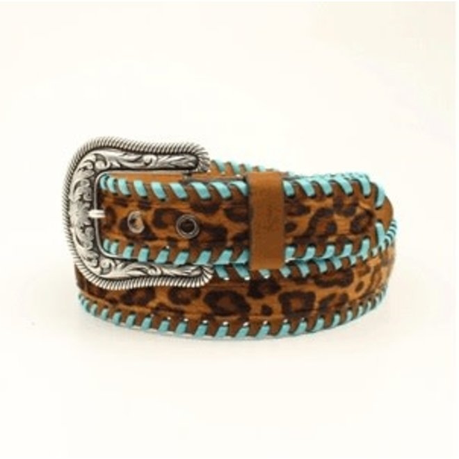 Ladies Leopard Print Belt