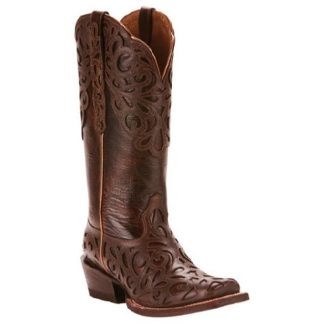 Ladies Cimarron Chocolate Boot