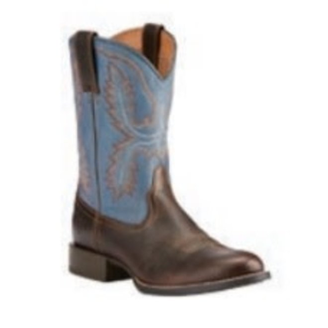 Mens Brown Stratten Boot
