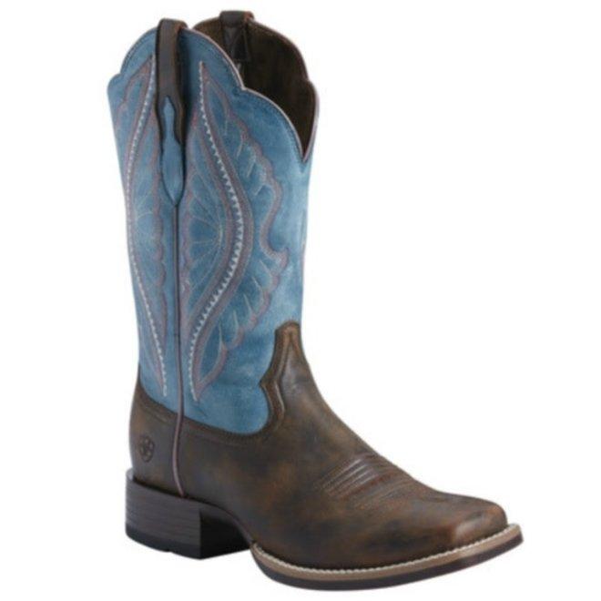 Ladies Chocolate Prime Time Boot