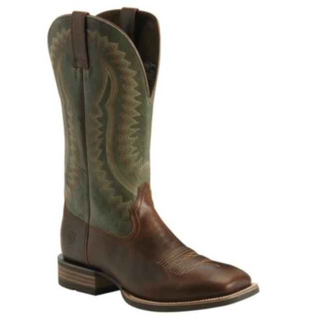 Mens Brown Hot Iron Performance Boot