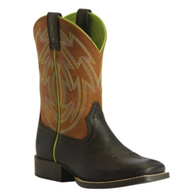 Kids Crossdraw Western Boot