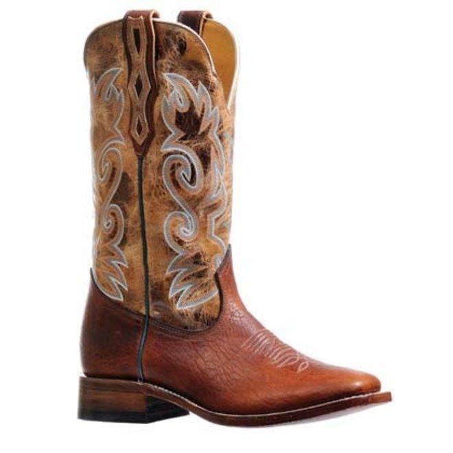 Mens Boulet Bison Shaft Stockman Cowboy Boot
