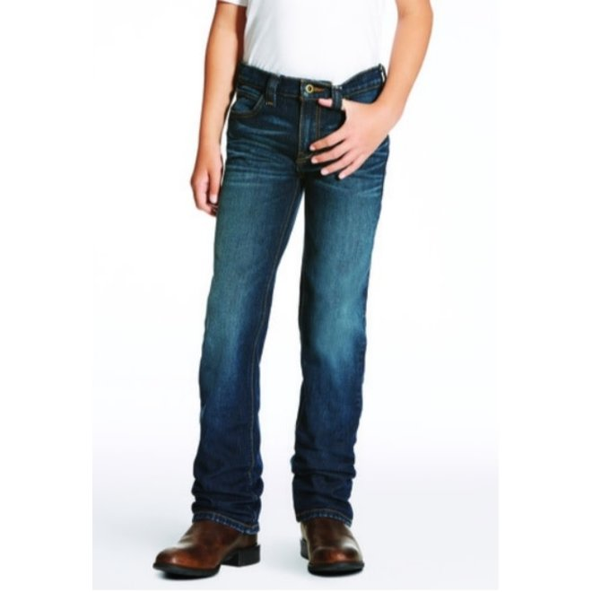 Boys Low Rise Straight Leg Jean